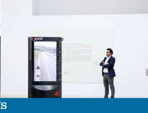 Robot publicitario: móvil, táctil e interactivo