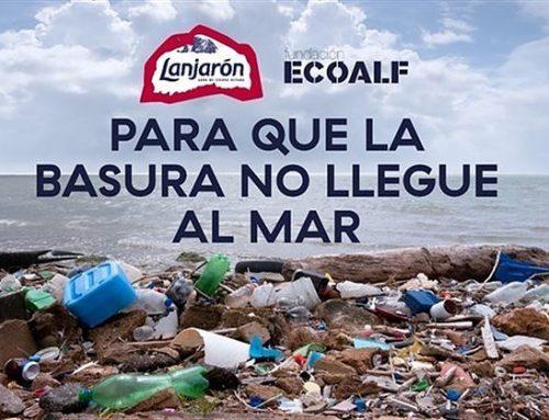 Lanjaron y Ecoalf unen fuerzas para combatir la contaminación de nuestros mares.